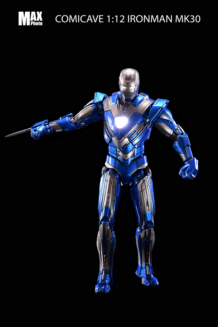 Iron Man 3 - Mark 25 (Striker) et Mark 30 - 1/12 (Comicave) 18211310