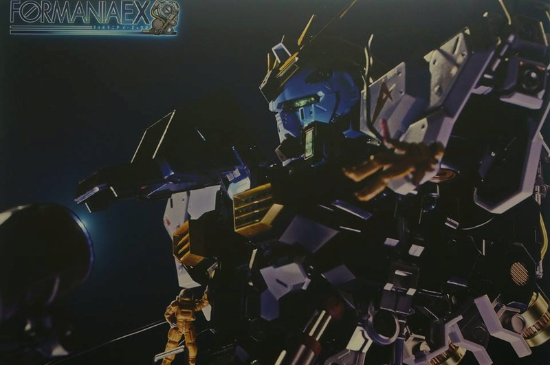 Nu Gundam Bust Display (Formania EX / Bandai) - Page 2 18268110