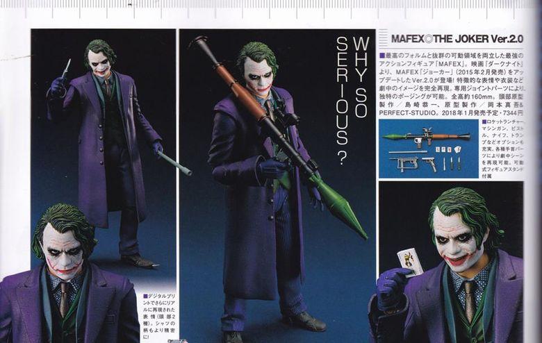 Batman The Dark Knight : Joker Ver.2.0 Mafex (Medicom Toys) 18481410
