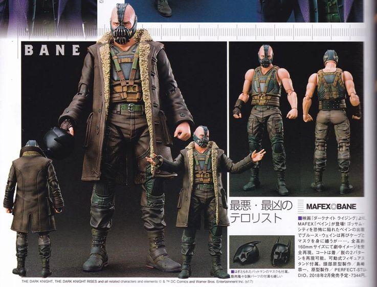 Batman The Dark Knight Rises : Bane Mafex (Medicom Toys) 18500710