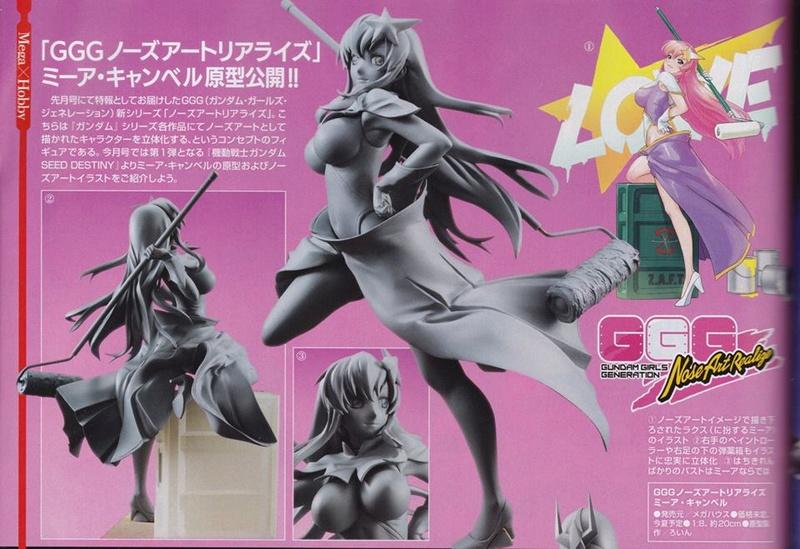 Gundam Girls Generation DX (GGG-DX) 1/8 [MegaHouse] 20044810