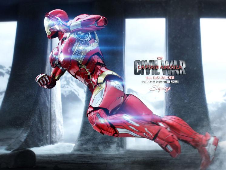 Iron Man Mark XLVI (46) 1/6 - Captain America : Civil War (Hot Toys) 22235812