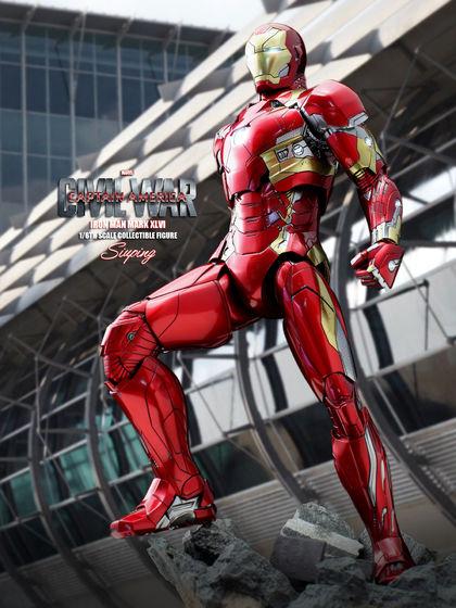Iron Man Mark XLVI (46) 1/6 - Captain America : Civil War (Hot Toys) 22235910
