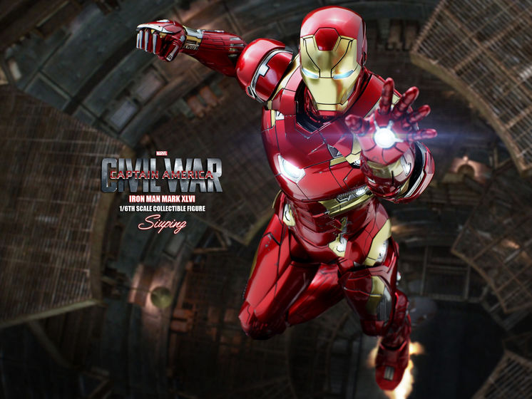 Iron Man Mark XLVI (46) 1/6 - Captain America : Civil War (Hot Toys) 22235911