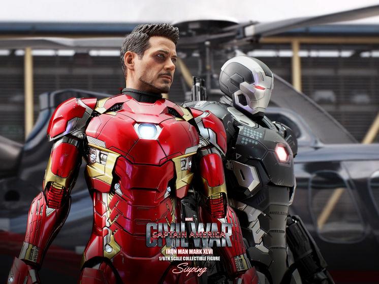 Iron Man Mark XLVI (46) 1/6 - Captain America : Civil War (Hot Toys) 22235912