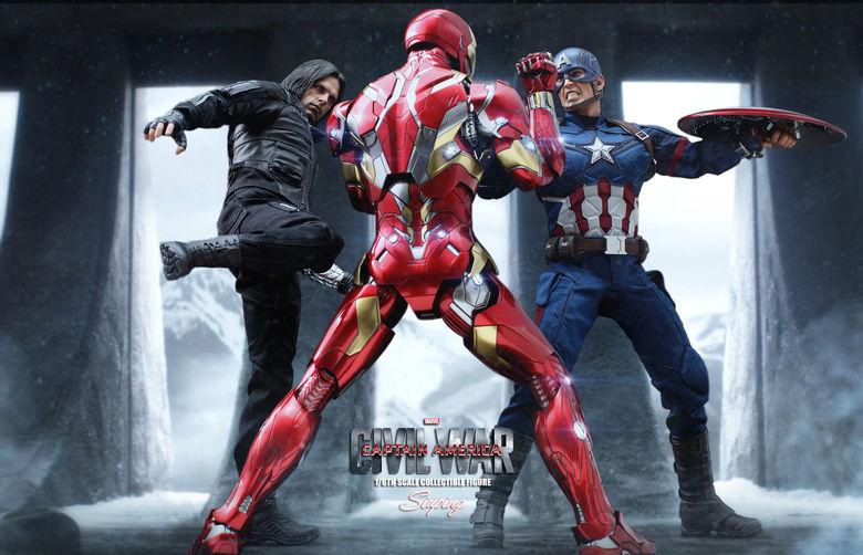 Iron Man Mark XLVI (46) 1/6 - Captain America : Civil War (Hot Toys) 22235914