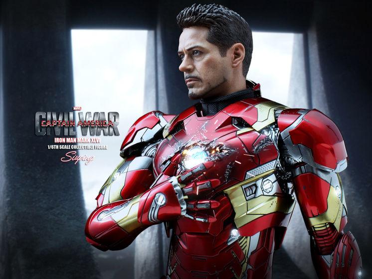 Iron Man Mark XLVI (46) 1/6 - Captain America : Civil War (Hot Toys) 22240011