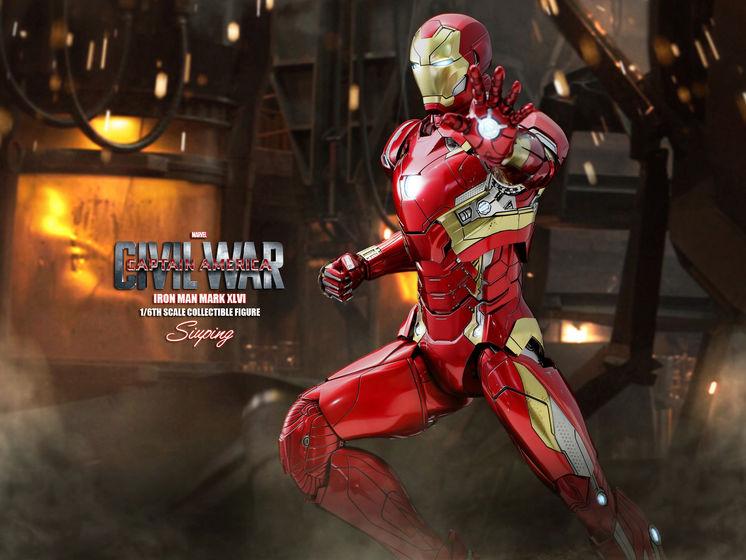 Iron Man Mark XLVI (46) 1/6 - Captain America : Civil War (Hot Toys) 22240012
