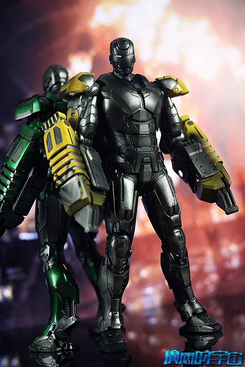 Iron Man 3 - Mark 25 et Mark 26 - 1/9 Diecast (King Arts)  22533210