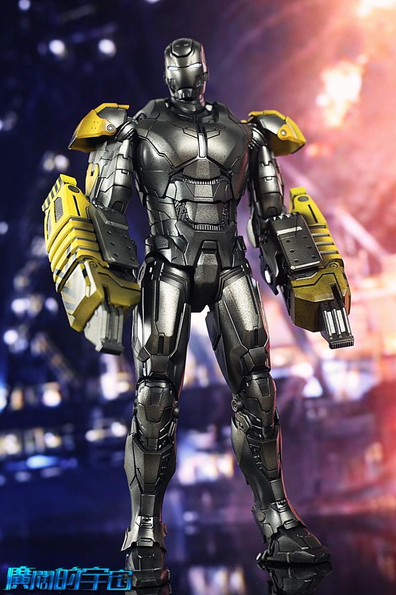 Iron Man 3 - Mark 25 et Mark 26 - 1/9 Diecast (King Arts)  22533410