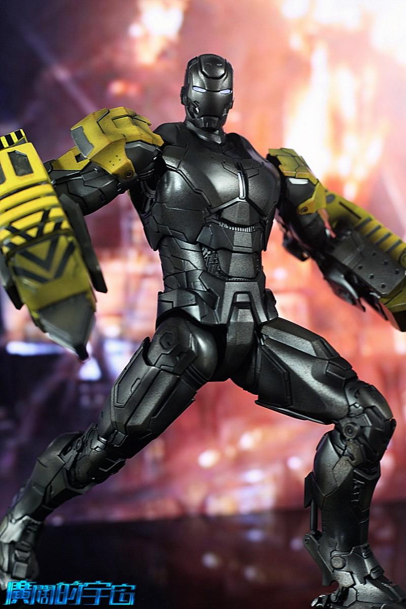 Iron Man 3 - Mark 25 et Mark 26 - 1/9 Diecast (King Arts)  22533810
