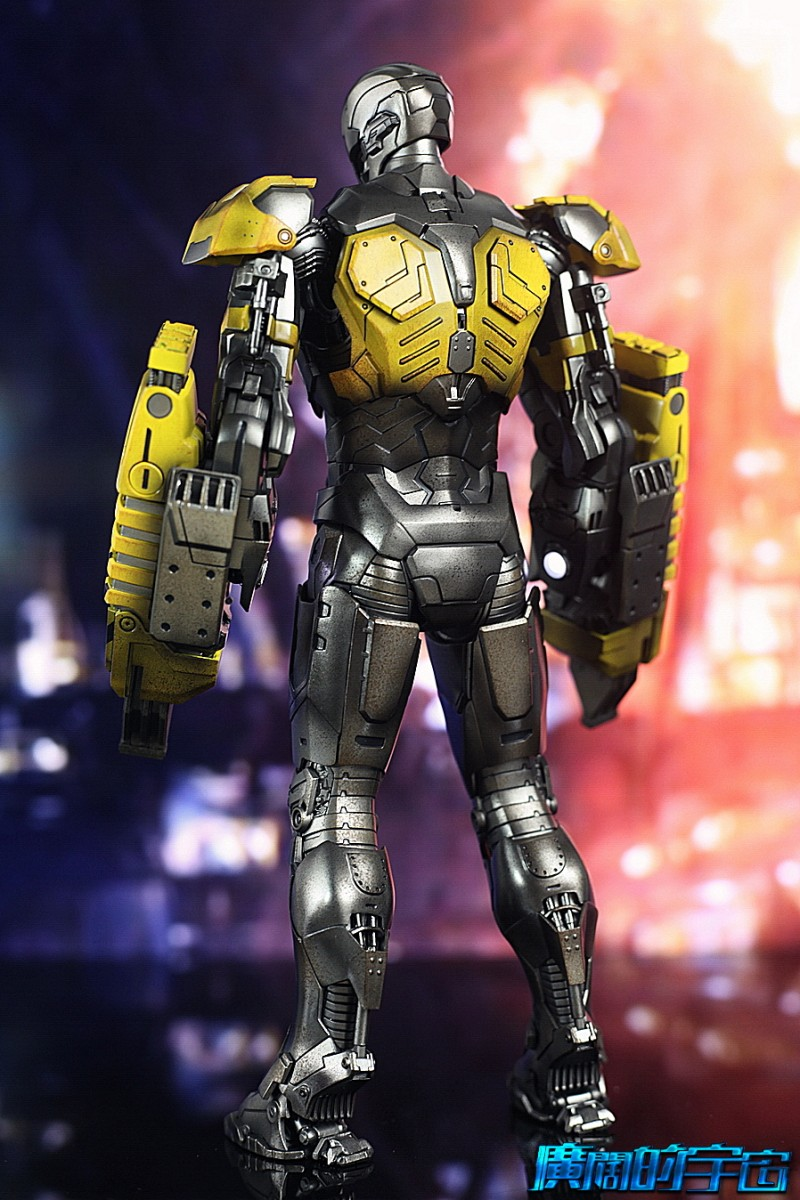 Iron Man 3 - Mark 25 et Mark 26 - 1/9 Diecast (King Arts)  22534111