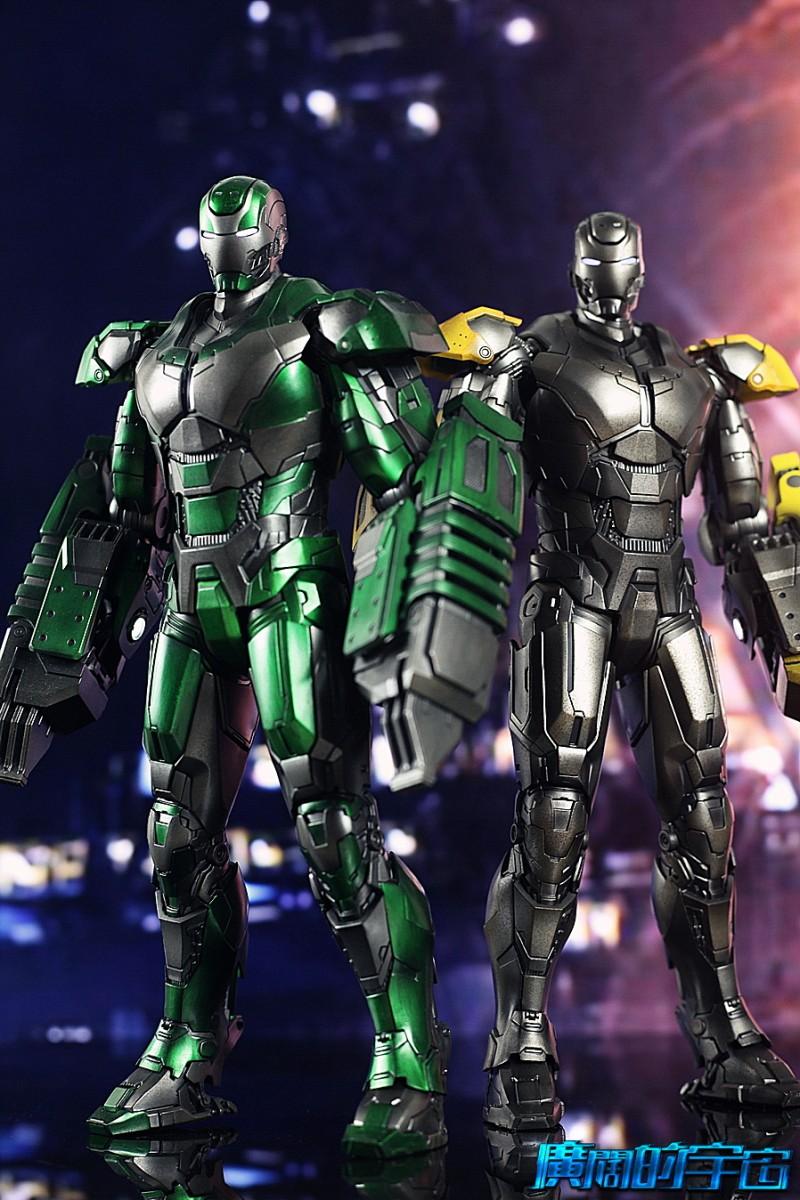 Iron Man 3 - Mark 25 et Mark 26 - 1/9 Diecast (King Arts)  22534210