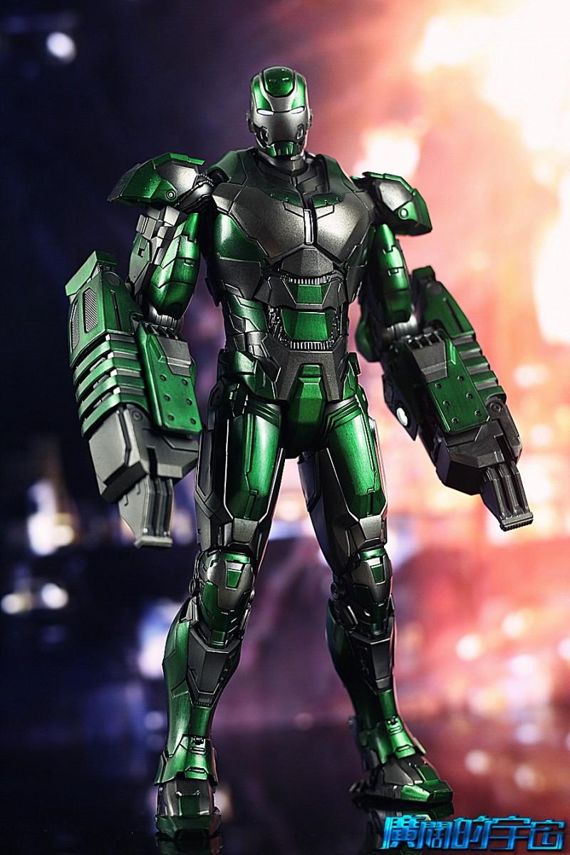 Iron Man 3 - Mark 25 et Mark 26 - 1/9 Diecast (King Arts)  22534510