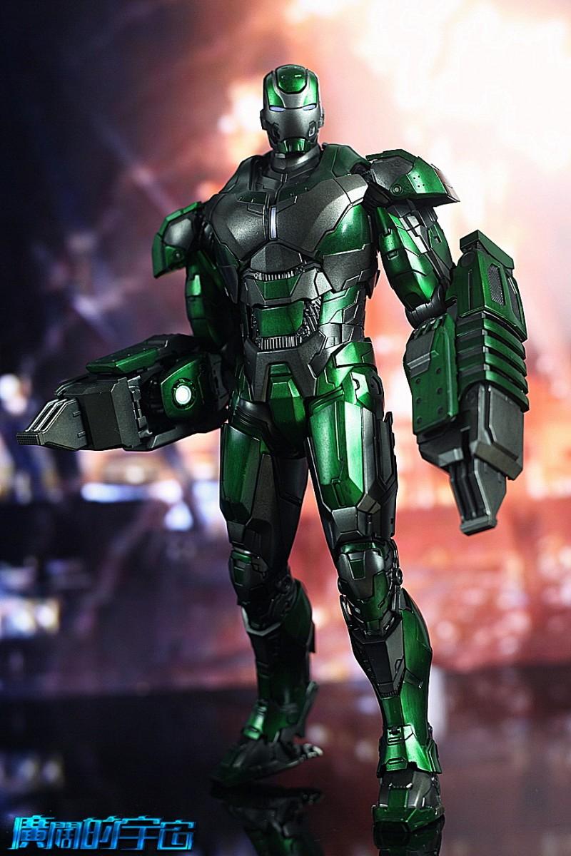 Iron Man 3 - Mark 25 et Mark 26 - 1/9 Diecast (King Arts)  22534610