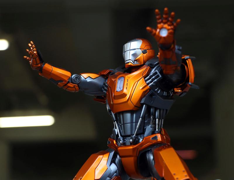 Iron Man 3 - Mark XXXVI/Mark 36 : Peacemaker 1/9 Diecast (King Arts) 23303411