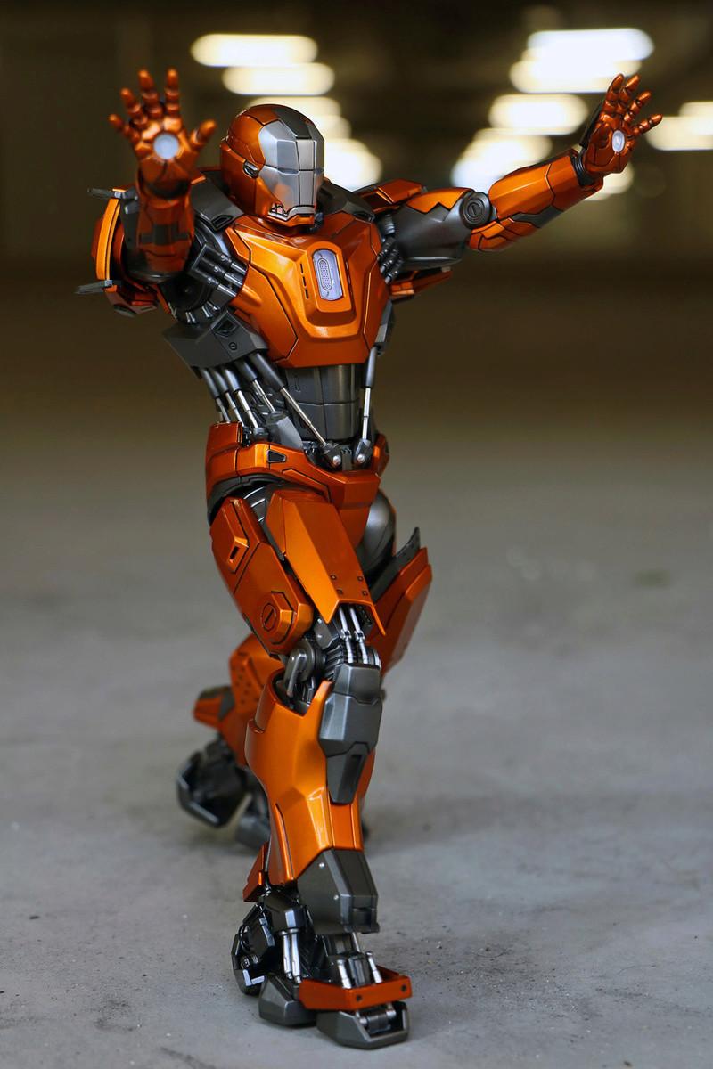 Iron Man 3 - Mark XXXVI/Mark 36 : Peacemaker 1/9 Diecast (King Arts) 23303510