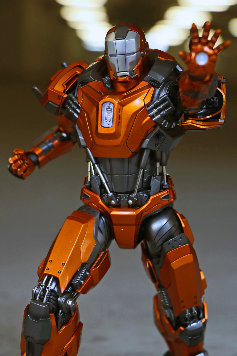 Iron Man 3 - Mark XXXVI/Mark 36 : Peacemaker 1/9 Diecast (King Arts) 23303511