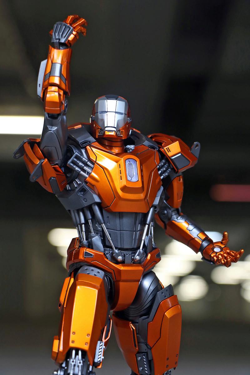 Iron Man 3 - Mark XXXVI/Mark 36 : Peacemaker 1/9 Diecast (King Arts) 23303811