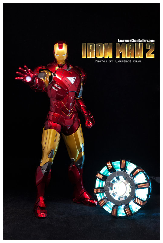 Iron Man 2 - Mark 6 - 1/9 Diecast (King Arts)  Dsc_1010