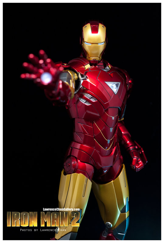 Iron Man 2 - Mark 6 - 1/9 Diecast (King Arts)  Dsc_1011