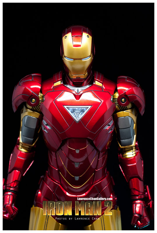 Iron Man 2 - Mark 6 - 1/9 Diecast (King Arts)  Dsc_1012