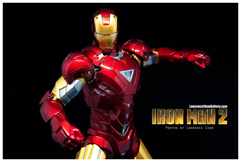 Iron Man 2 - Mark 6 - 1/9 Diecast (King Arts)  Dsc_1013