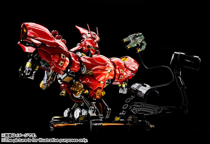 Nu Gundam Bust Display (Formania EX / Bandai) Item_242
