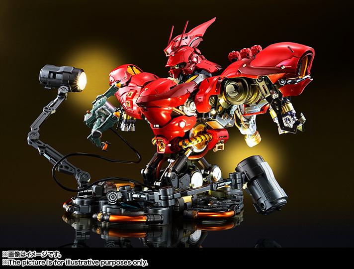 Nu Gundam Bust Display (Formania EX / Bandai) Item_247