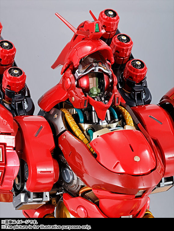 Nu Gundam Bust Display (Formania EX / Bandai) Item_249