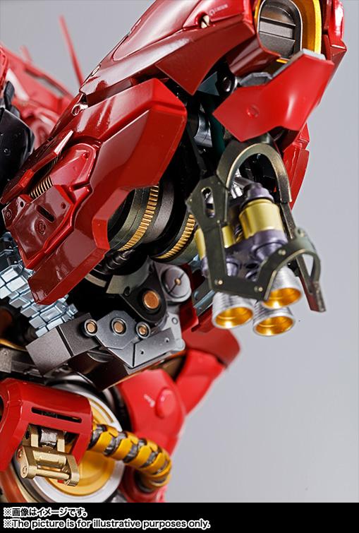 Nu Gundam Bust Display (Formania EX / Bandai) Item_257