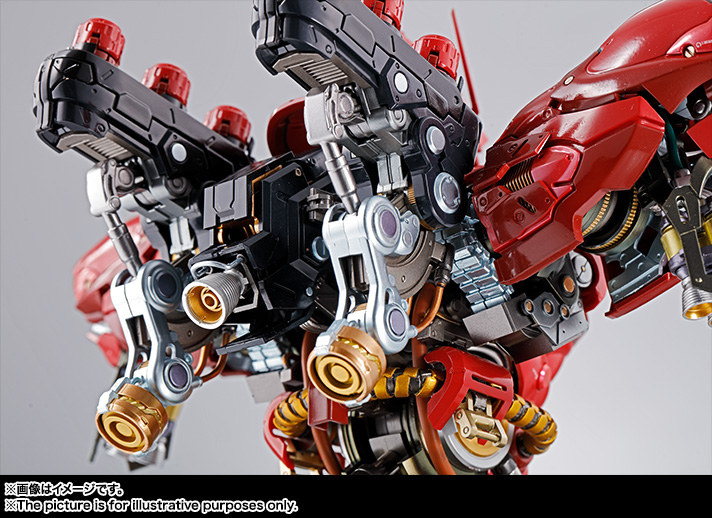 Nu Gundam Bust Display (Formania EX / Bandai) Item_258