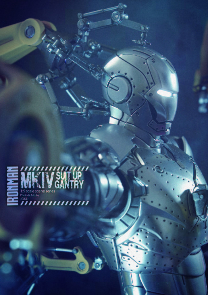 Iron Man 2  - Suitup Gantry Featuring Mark IV - 1/9 Diecast (King Arts) Mkiv_s12