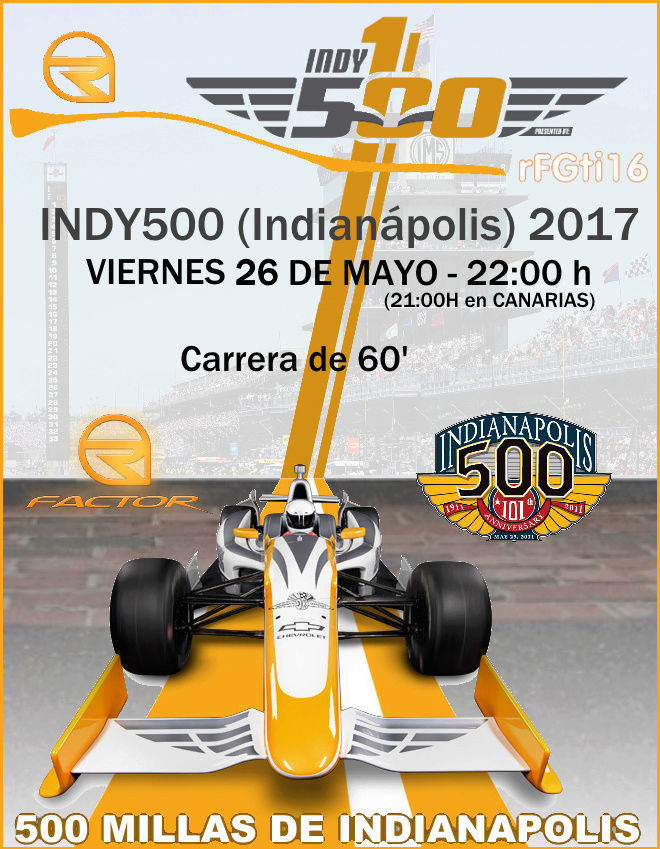 INDY 500 2017 Rfgti112