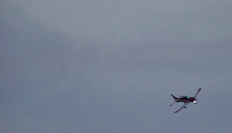 pc 21 en vol : vol presque de nuit ;-) , avec affichage tête haute  17269910