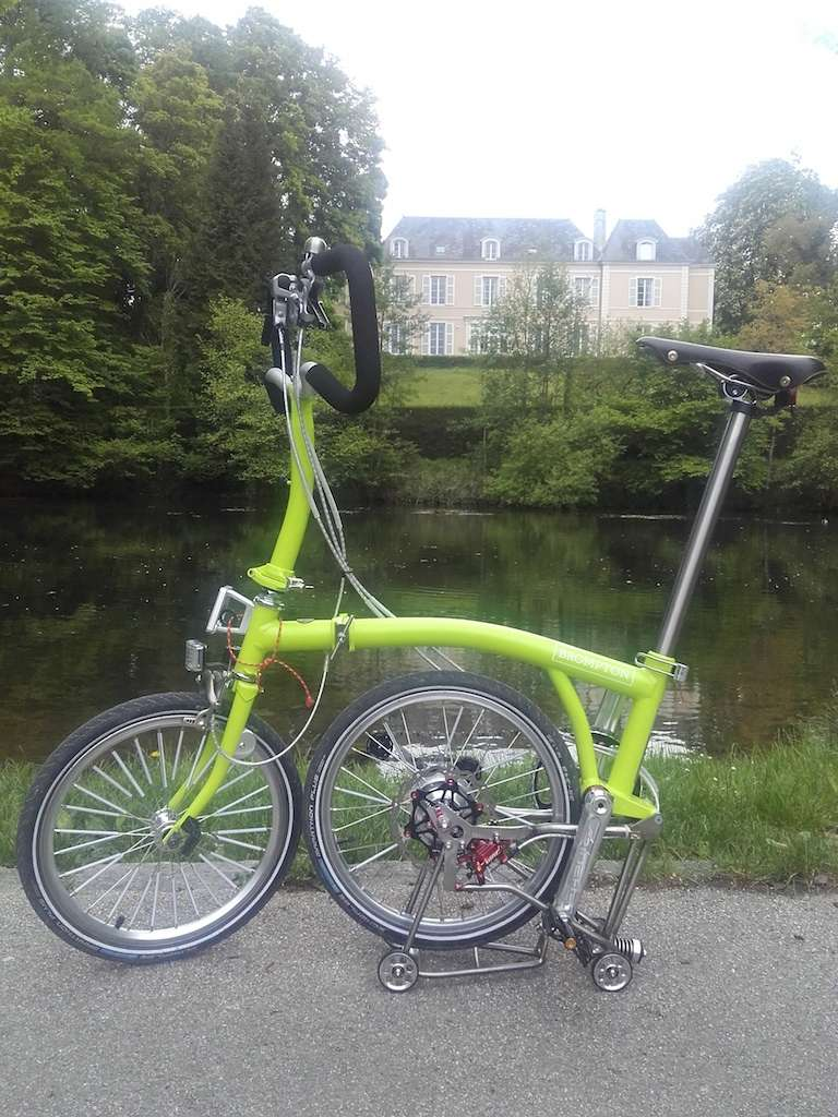 Green Lime Alfine Brompton by Kinetics - Page 5 Photo215