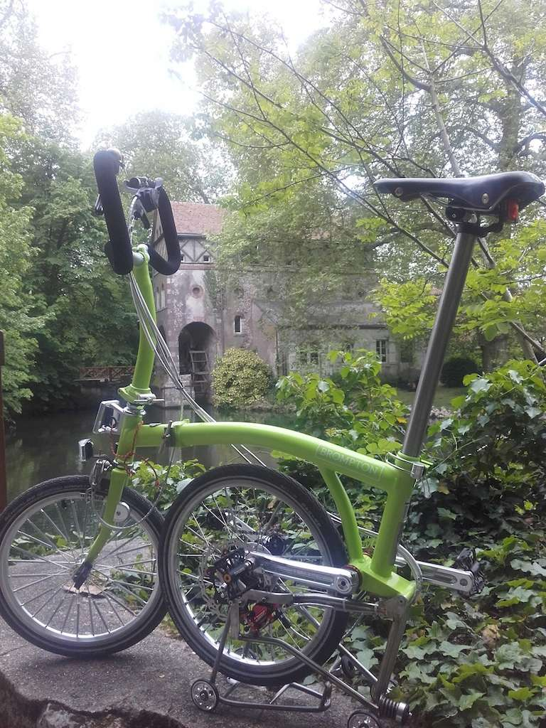 Green Lime Alfine Brompton by Kinetics - Page 5 Photo222