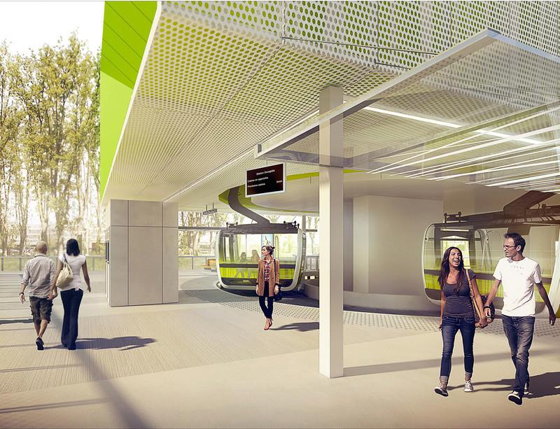 Construction Téléphérique 3S de Toulouse Cabine11