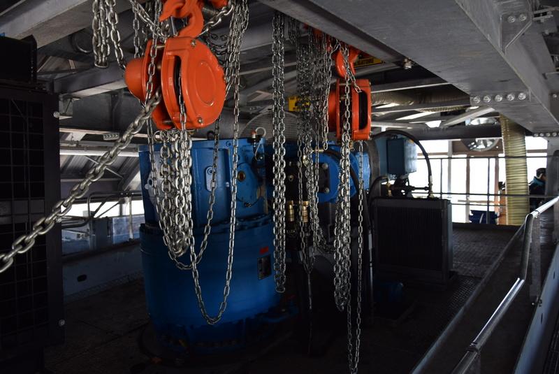 Machinerie Télésièges débrayables Doppelmayr G2-tsd12