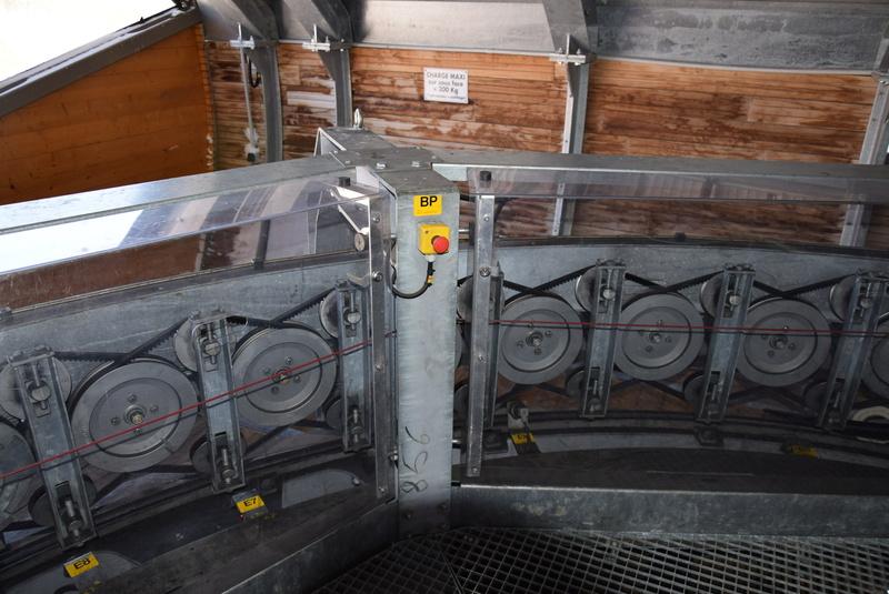 Machinerie Télésièges débrayables Doppelmayr G2-tsd13
