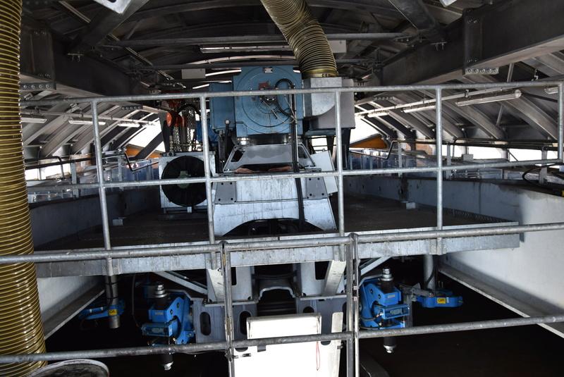 Machinerie Télésièges débrayables Doppelmayr G2-tsd21