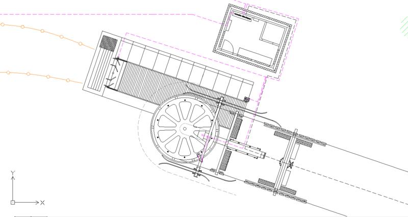 Dessins techniques, Plans 2D remontées mécaniques Plan0610