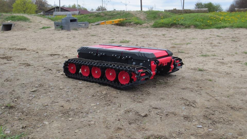 The Beast 3D printing track vehicle Beast_12