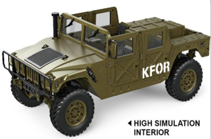 !/10 RC Humvee Hg_hum10