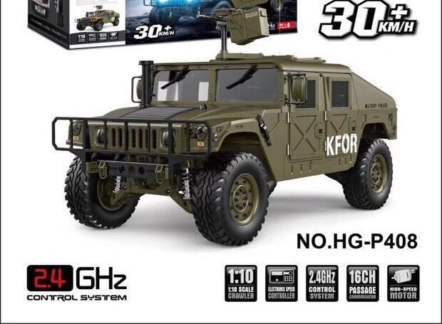 !/10 RC Humvee Hg_hum12