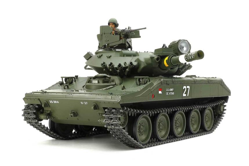 Tamiya new 1/16 M551 Tank M55110