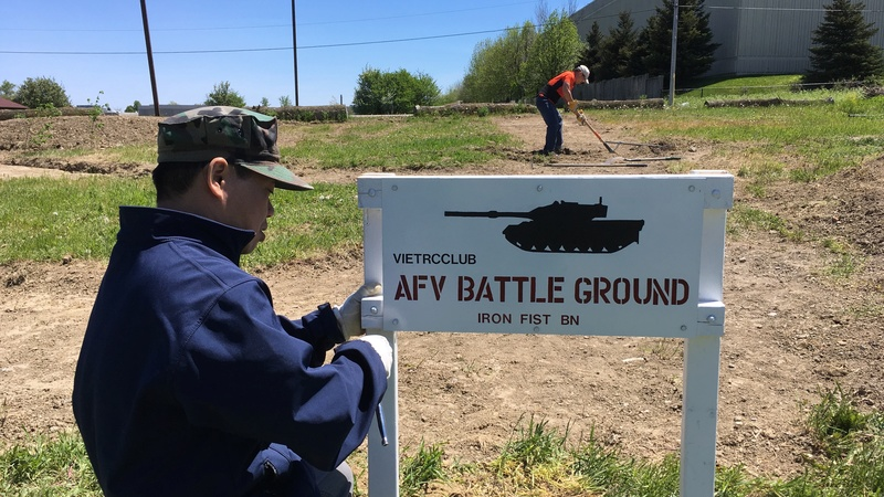 Mississauga AFV Battle Ground  Sign_210