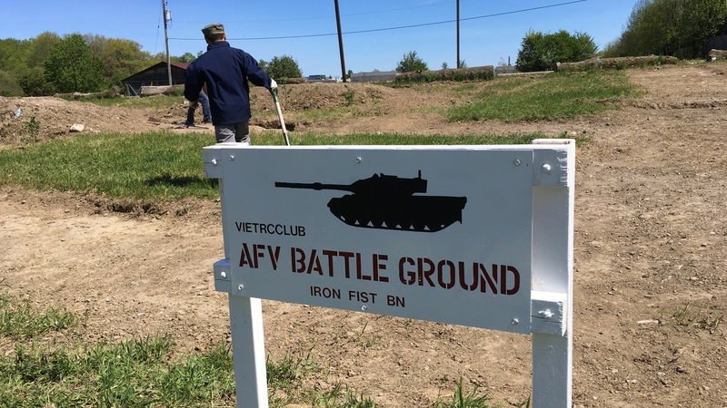 Mississauga AFV Battle Ground  Sign_410