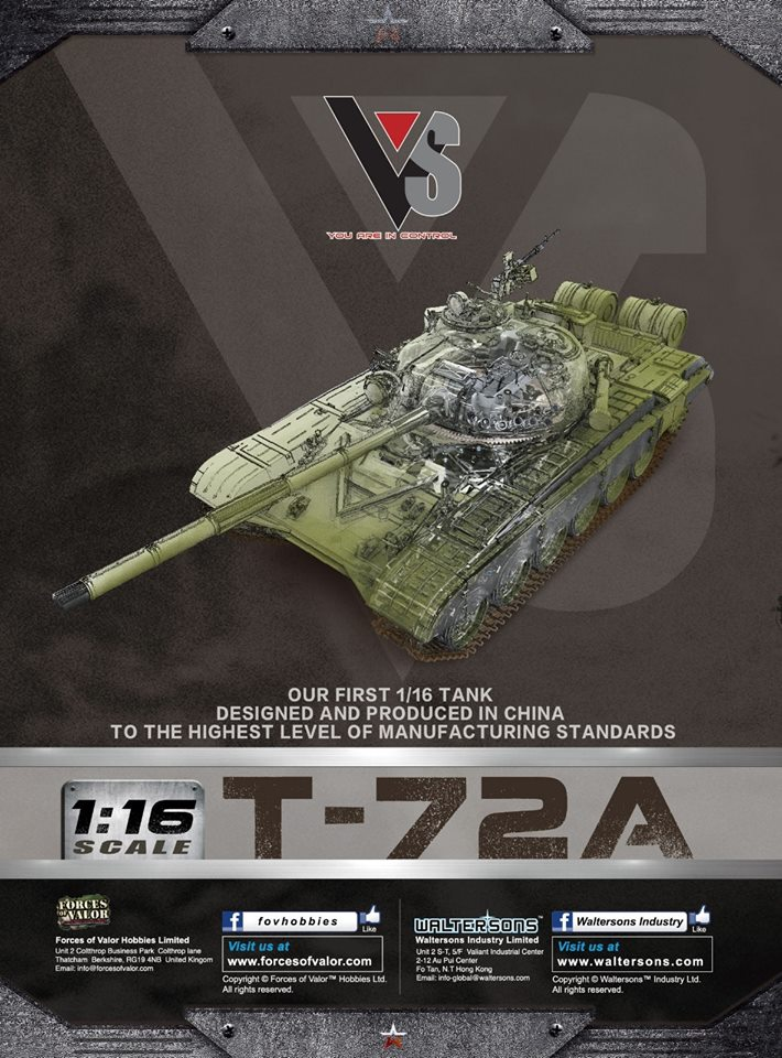 1/16 T72A is coming in Jun T72a10
