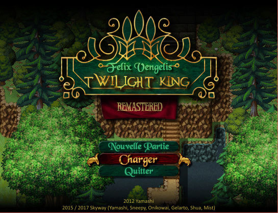 [RMVXace] Felix Vengelis -Twilight King- REMASTERED Screen11